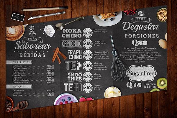 Cafe Food Menu Uk